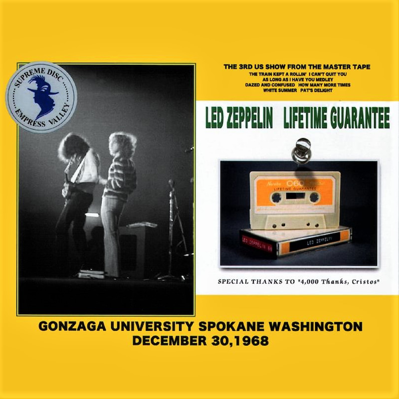 Led Zeppelin - Gonzaga University 1968 (NL) | cinnamon の
