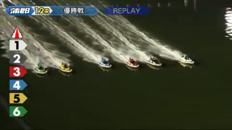 ボート レース 蒲郡 リプレイ