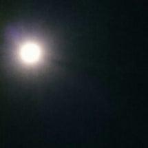 先日の今年最後の満月