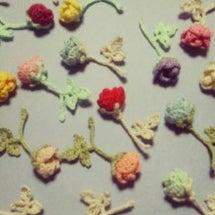 薔薇のある花屋