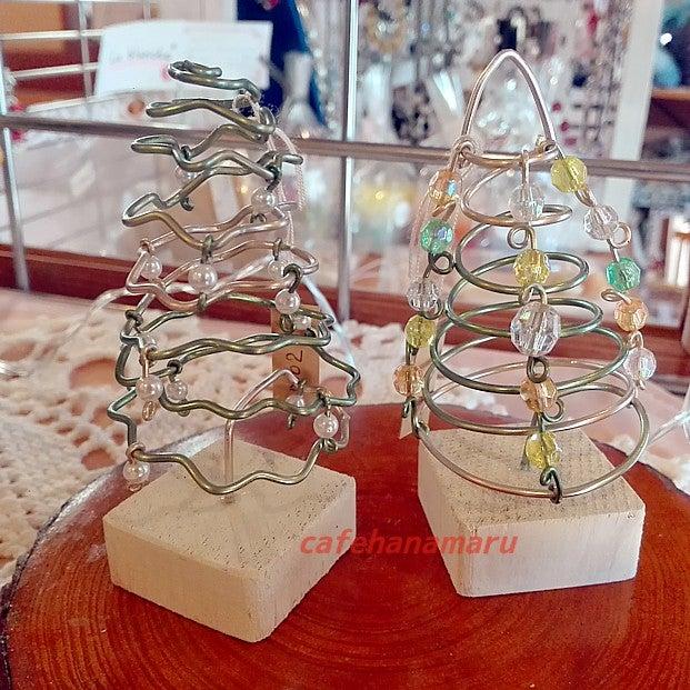ワイヤークラフトクリスマスツリー