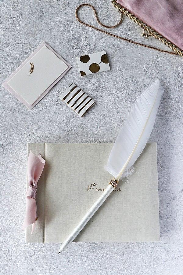 羽根ペン,作り方