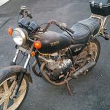 江東区で古いバイクの…