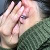 刺青★水瓶座デザイン(耳たぶ)スモールタトゥー!の画像