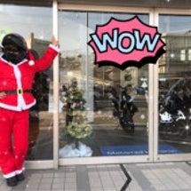 サンタさんがご来店⁈…