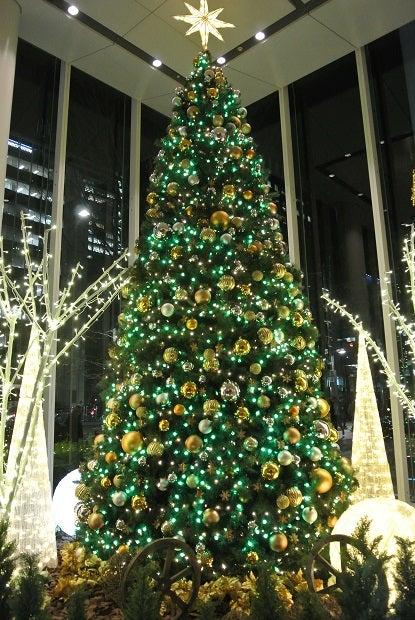 パシフィックセンチュリープレイス丸の内のクリスマスツリー