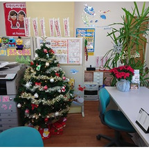 クリスマス♪ 店内2…