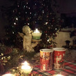 クリスマスのテーブル…