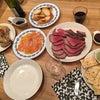 Merry Christmasの簡単肉ディナーとちび感謝感激感無量(^○^)の画像