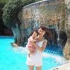 娘ちゃんのプールデビューはシェラトングアムのキッズプール!インフィニティプールの美しさにも感動!の画像