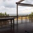 海が見えるカフェと「…