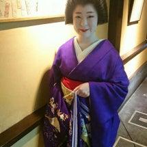 京舞観賞会の様子