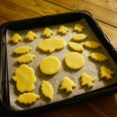 型抜きしやすいサクサク【バタークッキー】作り置きお菓子の記事に添付されている画像