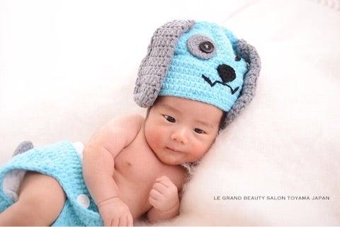 生後1ヶ月の赤ちゃん様、撮らせていただきました♡