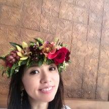 華やかな花冠づくり