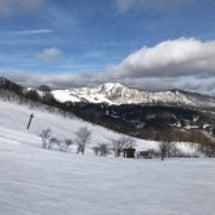 年末年始にスキー場へ…