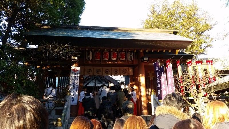 01 1月東京大神宮門