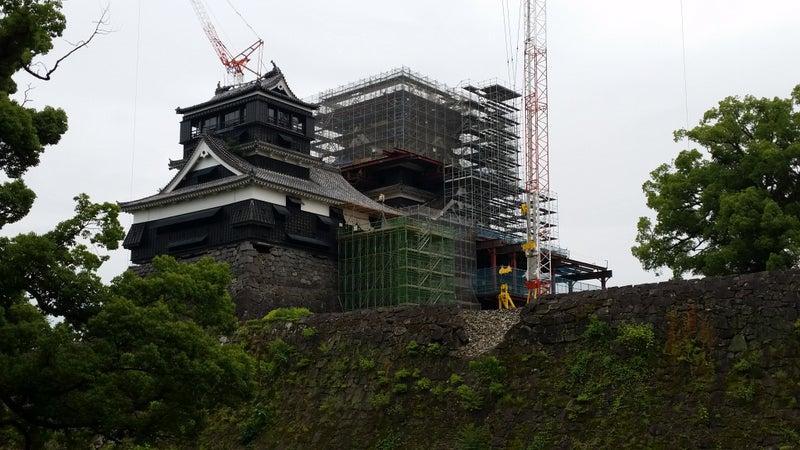 13 6月熊本城