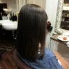 今年最後のGMT縮毛矯正のリタッチ、Hさん。の画像