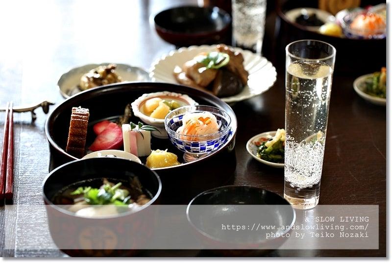 & SLOW LIVING:おせち料理