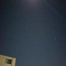今宵の月を感じながら