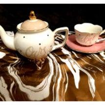 お蕎麦と美味しいお茶