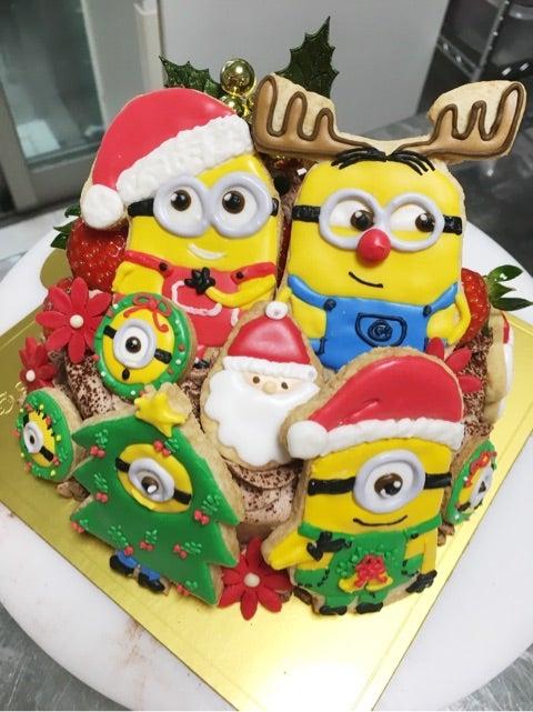 クリスマスケーキミニオンなど
