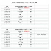 1月7日 チケット予…