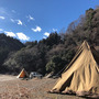 年末年始のキャンプの…