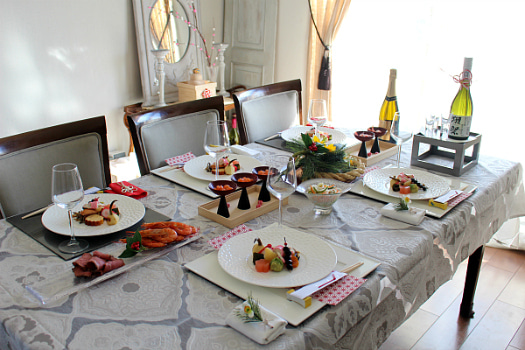 我が家のお正月テーブル&料理2018