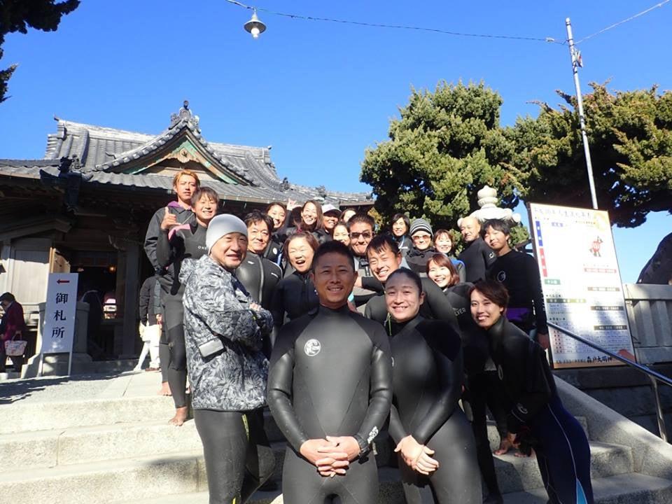 2018 森戸神社初詣SUPクルージングの記事より