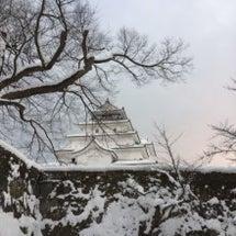 冬の鶴ヶ城は