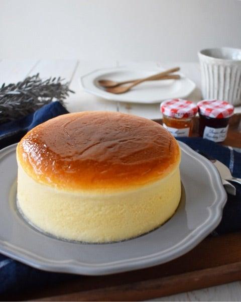 ふわしゅわ*とろける口溶け【スフレチーズケーキ】かなり細かく