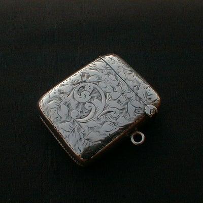 ヴィクトリア時代の 純銀製 マッチケース を見てみよう。の記事に添付されている画像