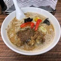 福座 かき醤油鶏白湯…