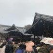 初雪☆初詣