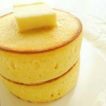厚焼きホットケーキ♡