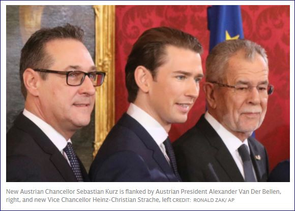 オーストリア:クルツ新政権、難...
