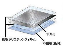 スペース暖シート プレミアム 四層構造