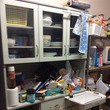 キッチン食器棚 片づ…