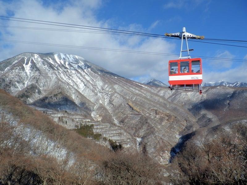 1月の明智平と華厳の滝と中禅寺...