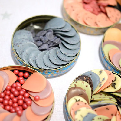 再入荷!サロンドショコラ常連ショコラトリーボワシエの花びらのチョコ♪ペタル販売開の記事に添付されている画像