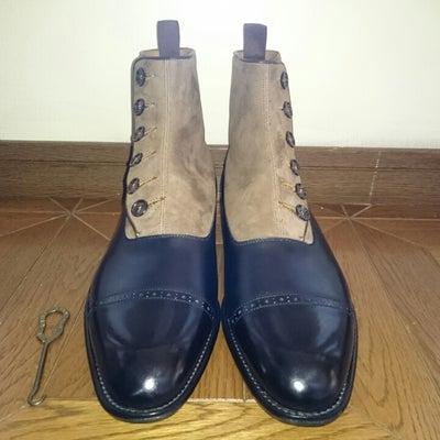 大塚製靴 ついにM5のボタンブーツを購入!!の記事に添付されている画像