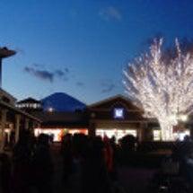 2017年末 富士山…