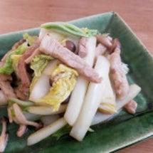 白菜白味噌炒め♪