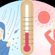 気温差による腰痛や神…