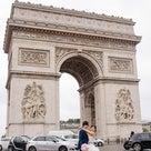 パリ・モンソー公園のフォトウェディングの記事より
