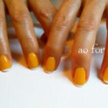 オレンジ色ではない!…