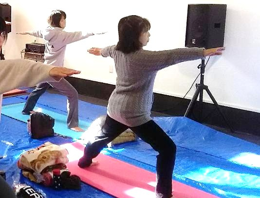 2016.12.11(日)石恋 戦士のポーズ2