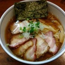 醤油らぁ麺(肉増し)…